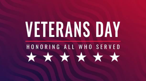 день ветеранов - в честь всех, кто служил поздравительную открытку - veterans day stock illustrations