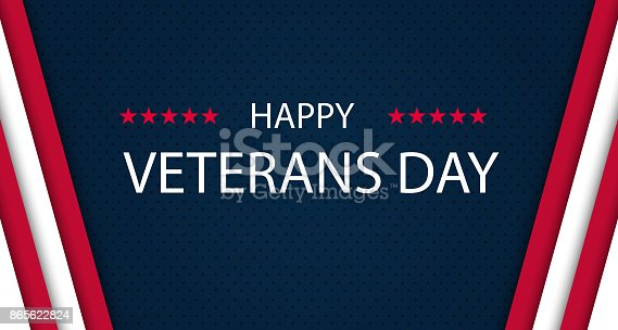 istock Veterans day. Honoring all who served. Veterans day background. Vector illustration. November 11 865622824