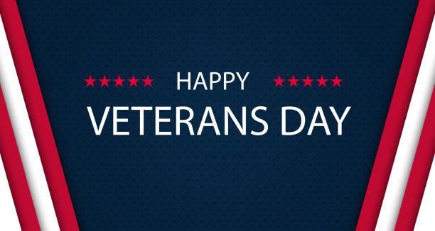 veterans day. honoring all who served. veterans day background. vector illustration. november 11 - us flag stock illustrations
