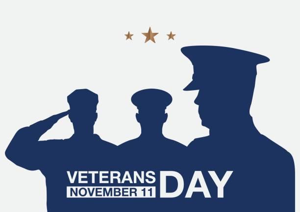 ilustraciones, imágenes clip art, dibujos animados e iconos de stock de banner de la promo del día de los veteranos. - personal militar