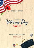 Veterans Day Sale Flyer
