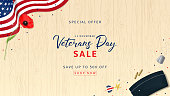 Veterans Day Sale Web Banner