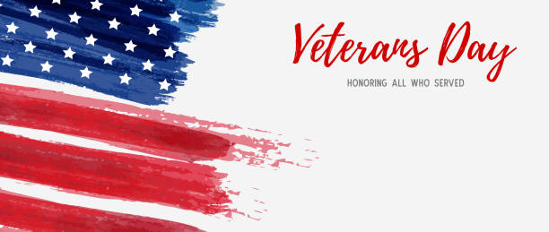 usa veterans day - memorial day stock illustrations, clip art, cartoons, & icons
