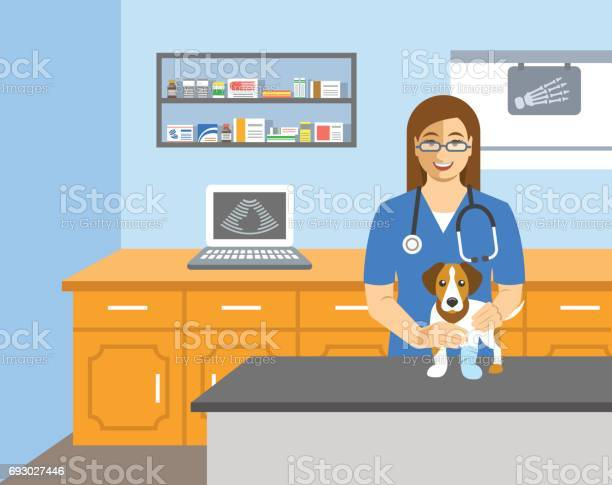 Veterinarian doctor holds dog on examination table vector id693027446?b=1&k=6&m=693027446&s=612x612&h=h4zvabsbpokytbvzo1ztmz r3xpvjw2sr0e7ggohxbg=