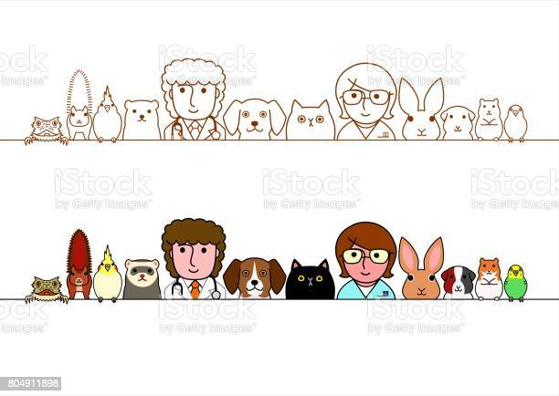 Veterinarians and pets animals border set vector id804911898?b=1&k=6&m=804911898&s=612x612&h=yeztto3d kbypp dmk296qdsu0qgqyqruu9853slwcy=