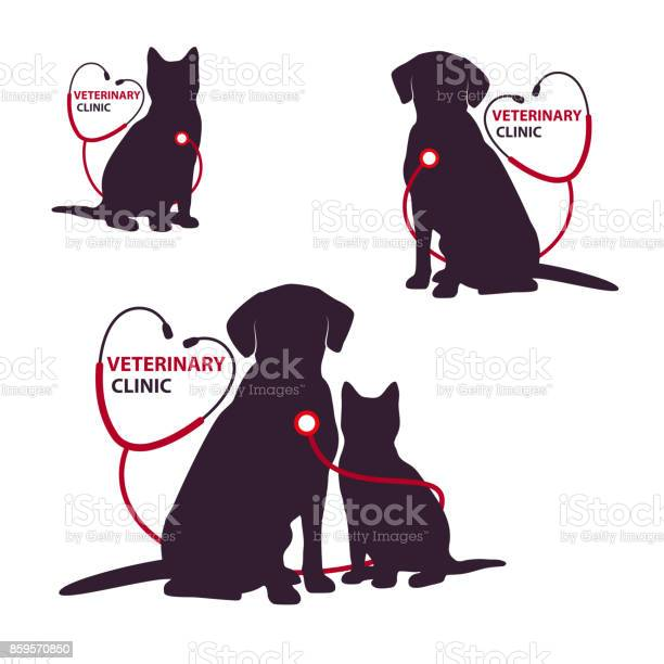 Veterinary clinic icon with cat and dog vector illustration vector id859570850?b=1&k=6&m=859570850&s=612x612&h=i9rl mh9khid jza5on4peokhh9u9h57mfmcfrbh37i=