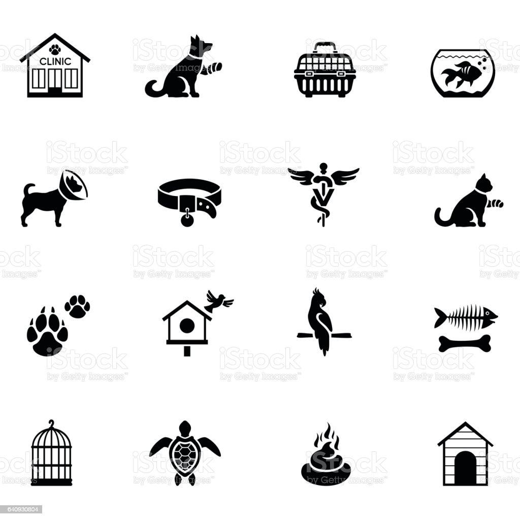 Icono de veterinarios - ilustración de arte vectorial