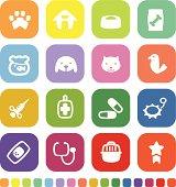 Vector File of Veterinary Icon Set