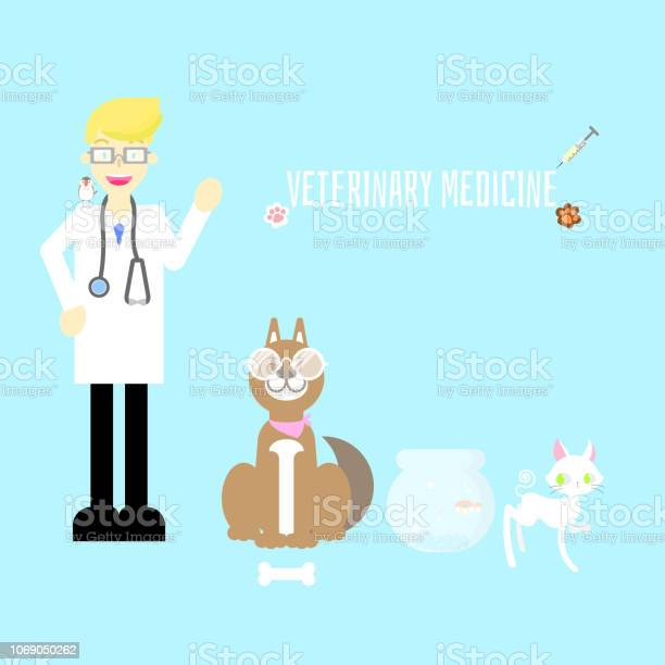 Veterinary medicine clinic hospital cute pet animal health care with vector id1069050262?b=1&k=6&m=1069050262&s=612x612&h=wfvxruiagh5laeobxc 4rnvr504p6zn9g7nbrrha5ae=