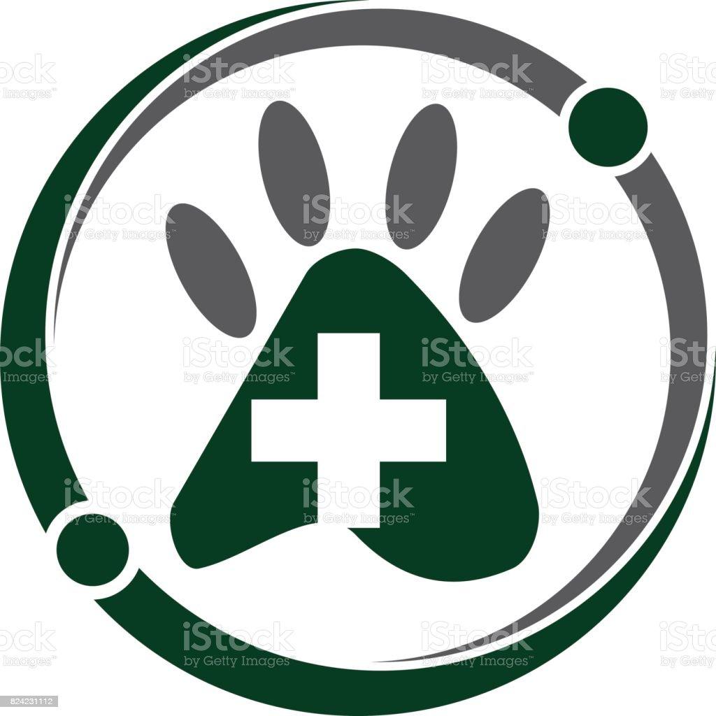 Veterinary Wellness vector art illustration