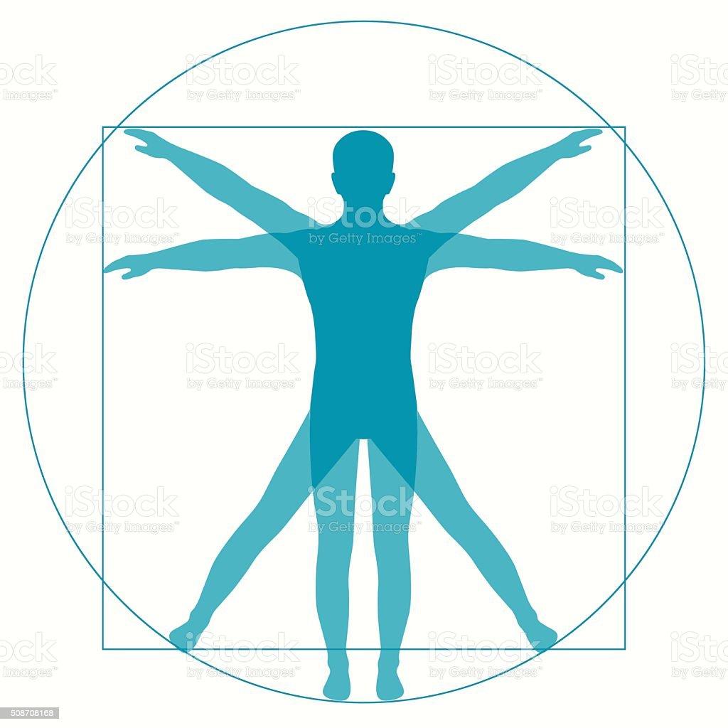 royalty free vitruvian man clip art vector images illustrations rh istockphoto com vitruvian man vector png vitruvian man vector file