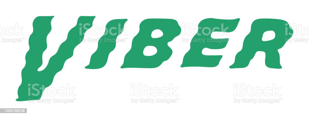 Viber Stock Vector Art More Images Of Color Image 1003739228 Istock