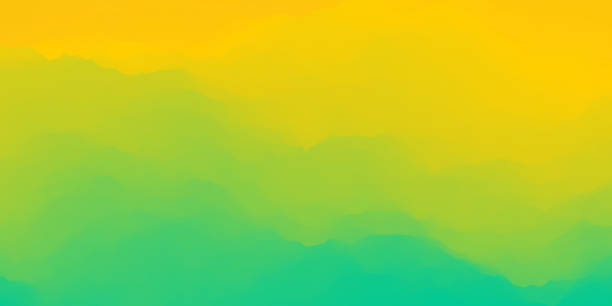 bildbanksillustrationer, clip art samt tecknat material och ikoner med pulserande abstrakt bakgrund - gul bakgrund