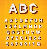 Dimentional letters