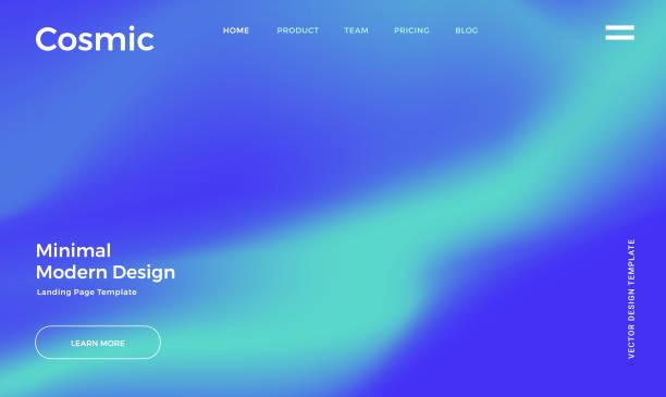 鮮やかなグラデーションの背景 - オーロラ点のイラスト素材/クリップアート素材/マンガ素材/アイコン素材
