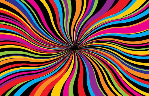 Vibrant Psychedelic Background