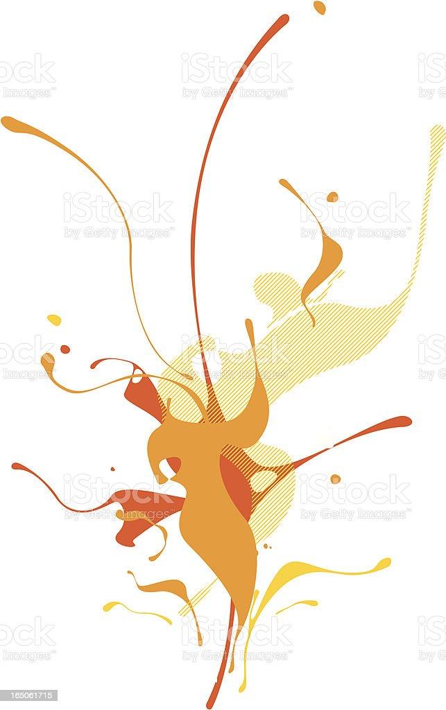 vibrant splash royalty-free stock vector art