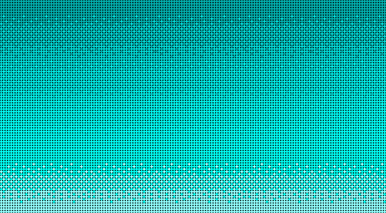 Vibrant Turquoise Baby Blue Pixelated 8-bit Video Game Background or Wallpaper
