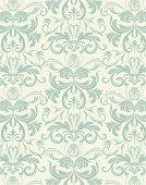 A floral pattern design.