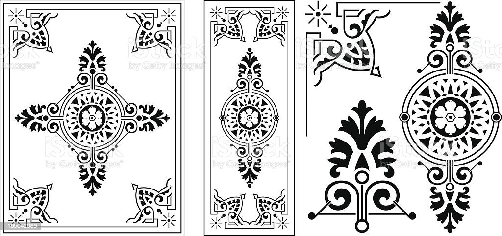 Victorian Ornate Panel