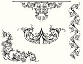 Designed by a hand engraver, this carefully drawn and highly detailed scroll set is useful in page corners, as borders, rule lines, or as a symmetrical design (center). All elements on seperate layers so you can modify as you wish. These are true and accurate hand engraving patterns which you can rearrange to suit your needs.