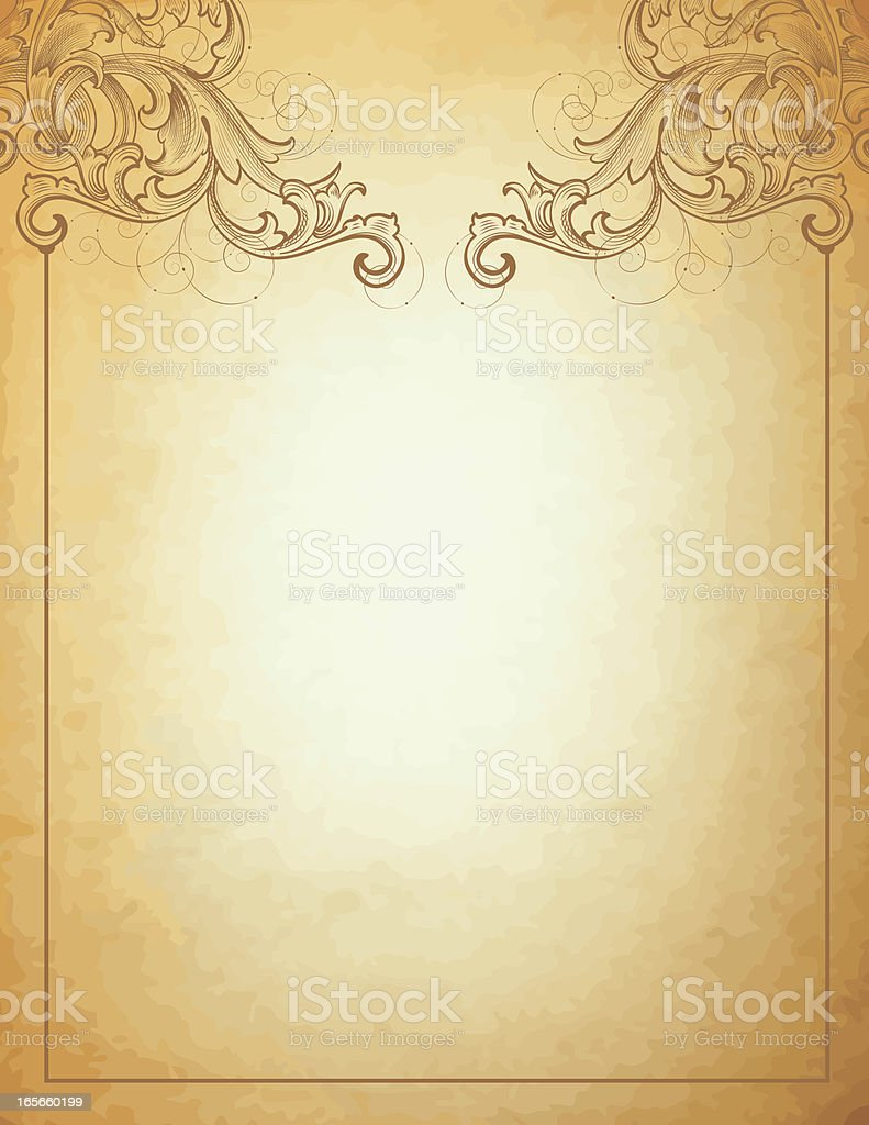 Victorian Stationery royalty-free stock vector art