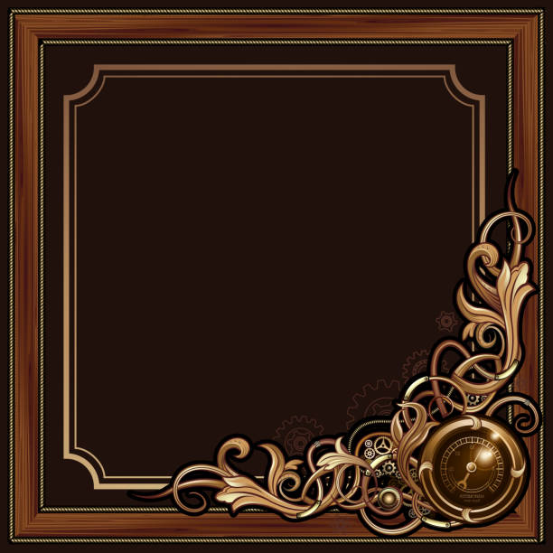 Royalty Free Steampunk Frame Clip Art, Vector Images ...