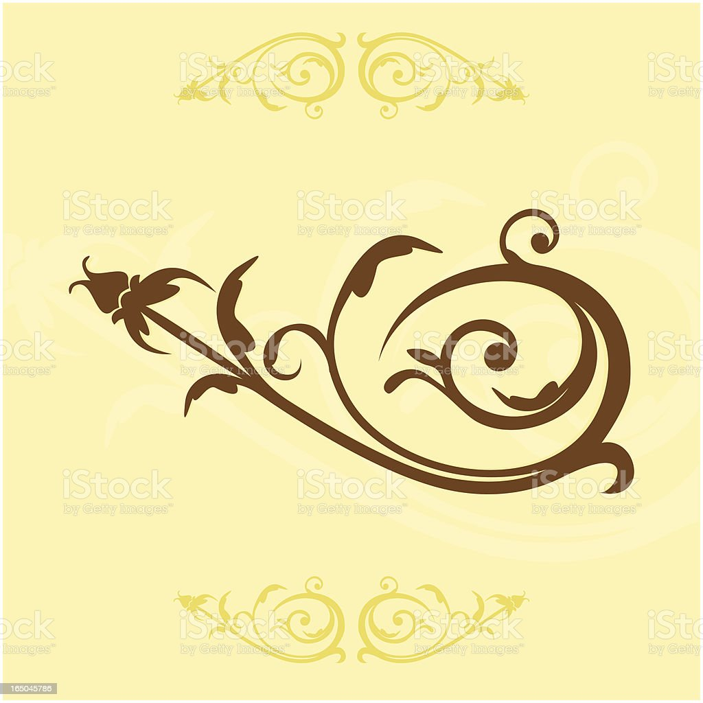 Victorian Style Ornament royalty-free victorian style ornament stock vector art & more images of abstract
