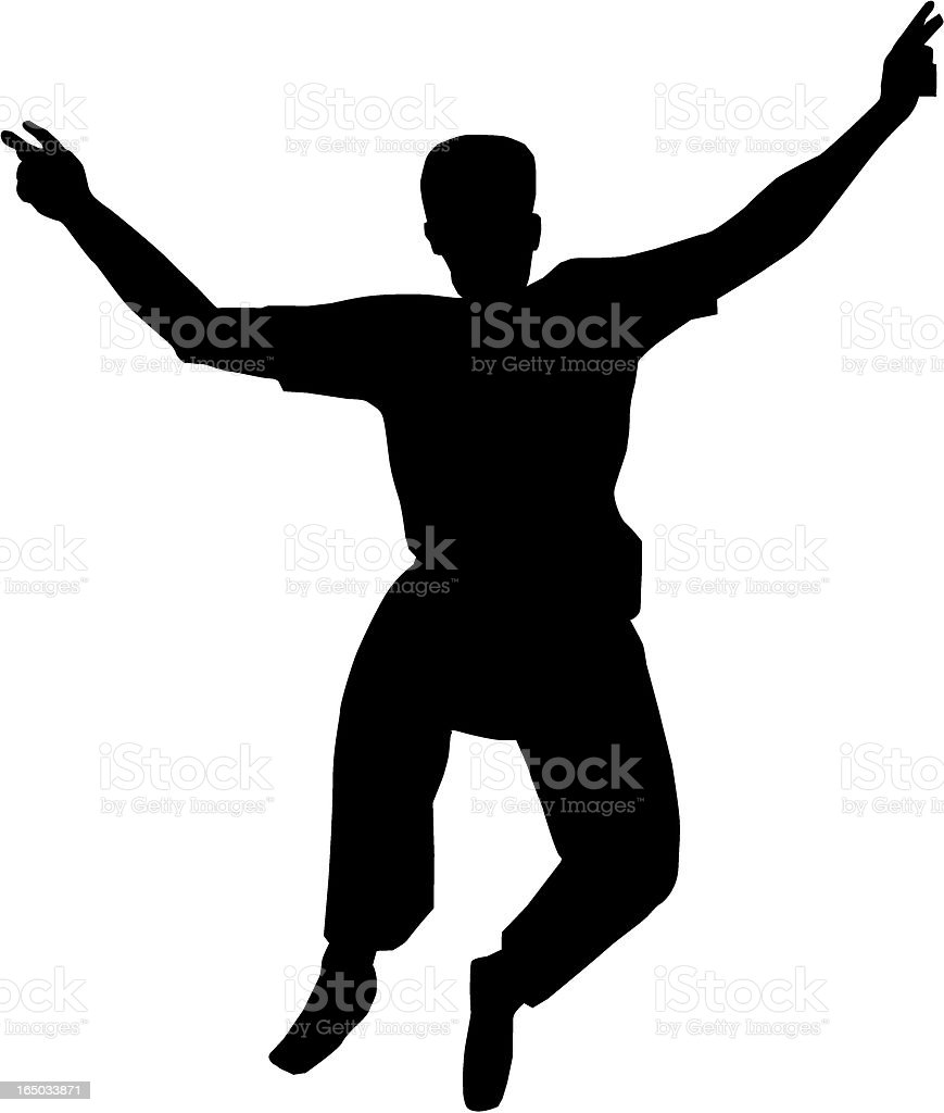 Victorious jump royalty-free victorious jump stock vector art & more images of adult