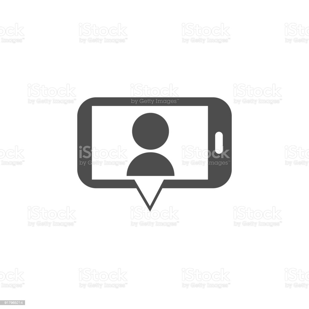 Video call from a smart phone icon elements of web icon premium video call from a smart phone icon elements of web icon premium quality graphic biocorpaavc