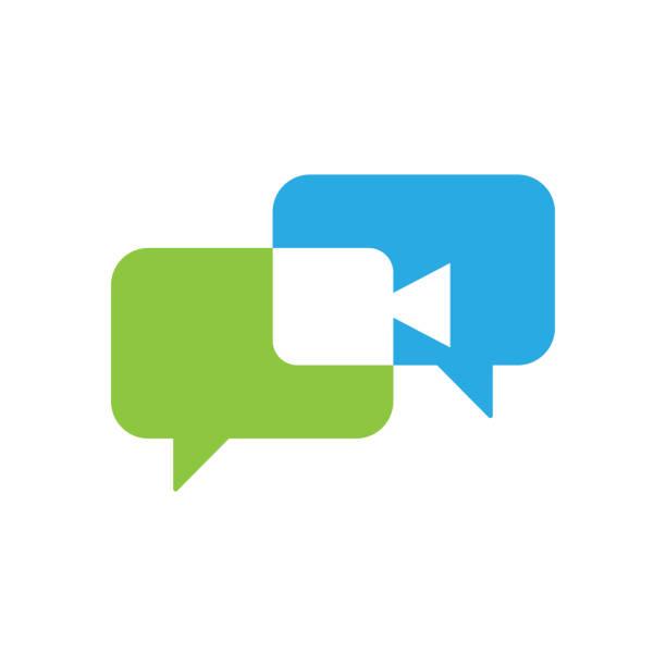 Video Call Icon Logo Vector Illustration. Video Call icon design vector template. Trendy Video Call vector icon flat design for website, symbol, logo, icon, sign, app, UI. Video Call Icon Logo Vector Illustration. Video Call icon design vector template. Trendy Video Call vector icon flat design for website, symbol, logo, icon, sign, app, UI. conceptual symbol stock illustrations