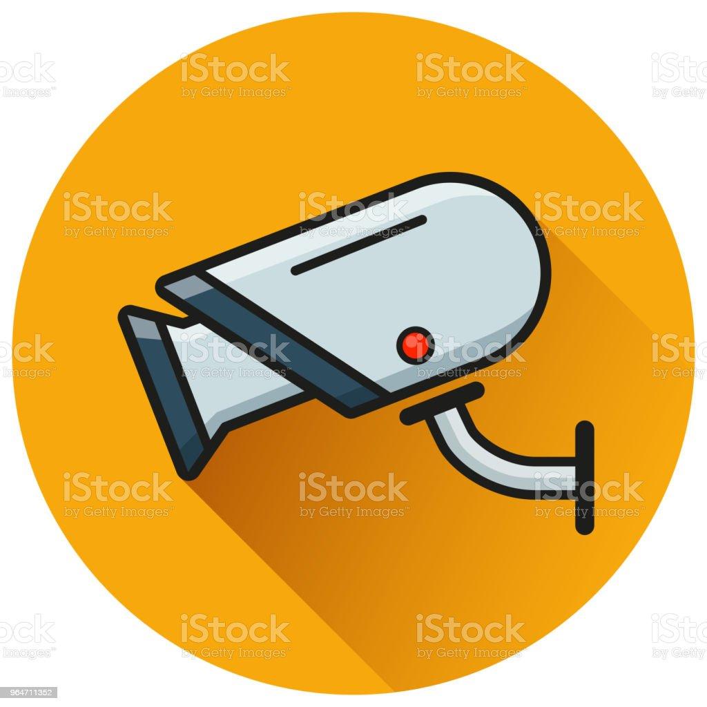video camera circle flat icon royalty-free video camera circle flat icon stock vector art & more images of cartoon
