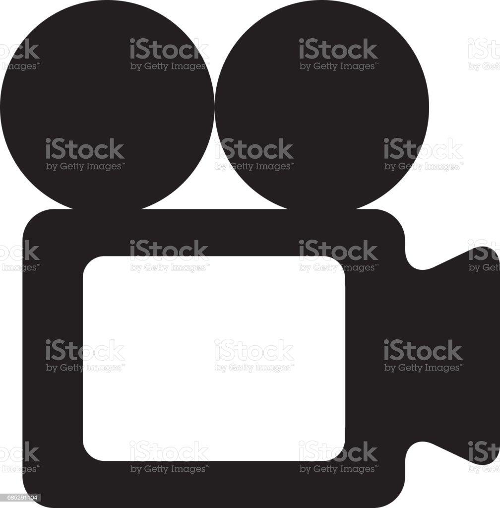 Video Klappe Isolierten Symbol Stock Vektor Art und mehr Bilder von  Ausrüstung und Geräte - iStock