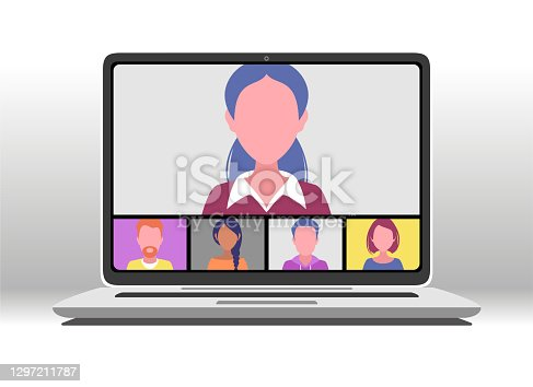 istock Video conference 1297211787