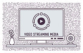Video content; hand drawn graphic designs with doodle like backgrounds. You can use it like cards, banners or templates for your other design ideas.