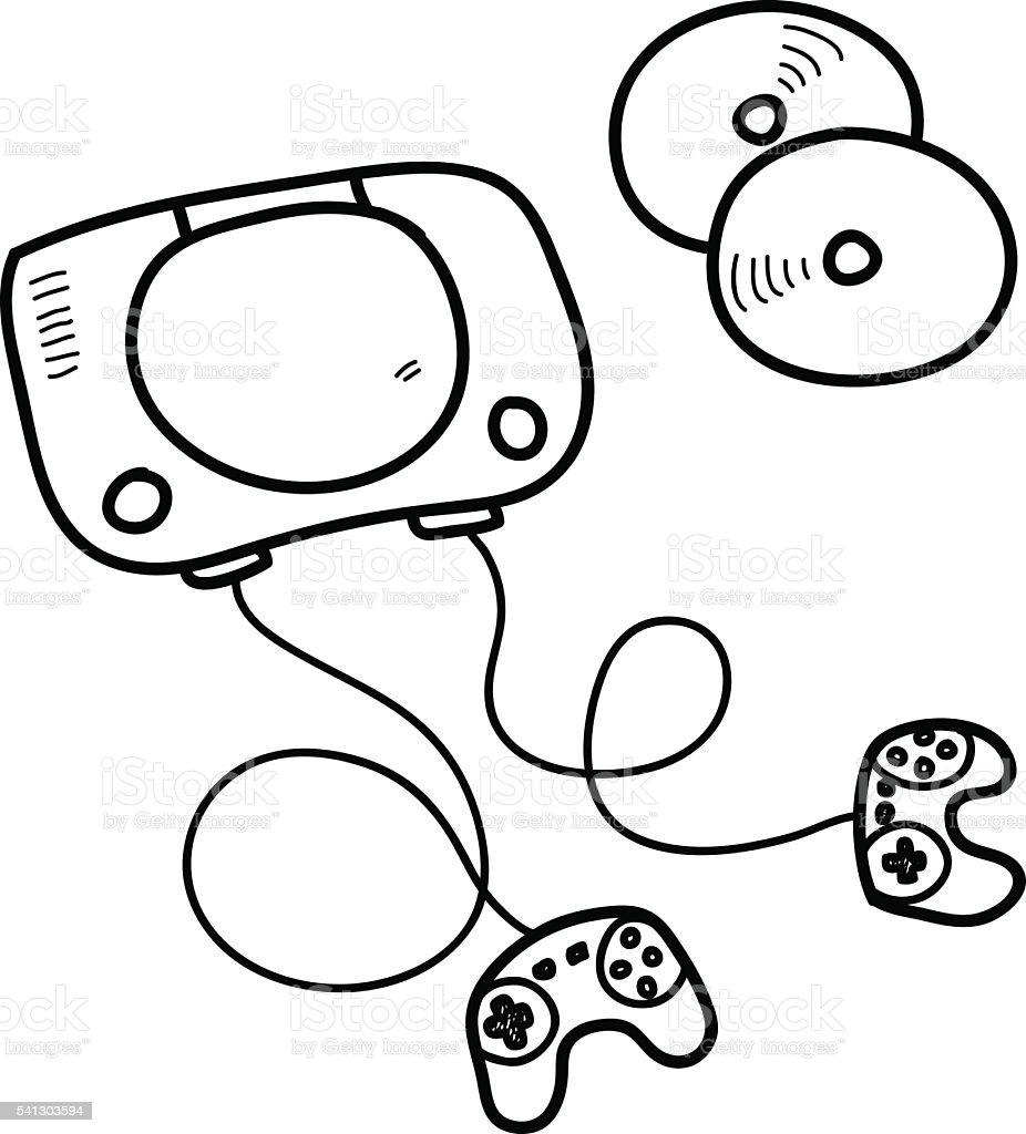 Consolas De Videojuegos Dibujos