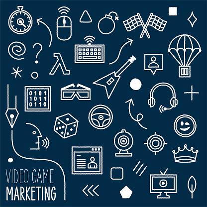 Video Game Content Marketing Design