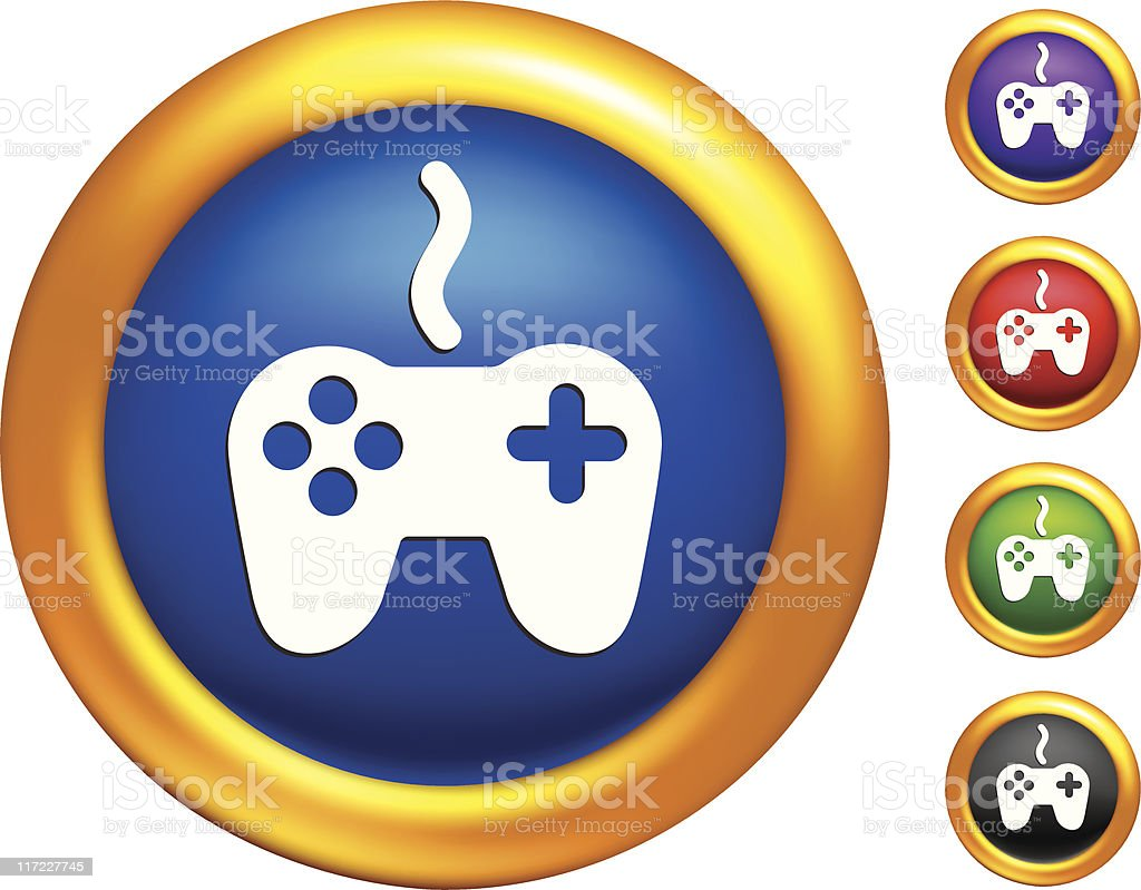 video game controller internet icon royalty-free stock vector art