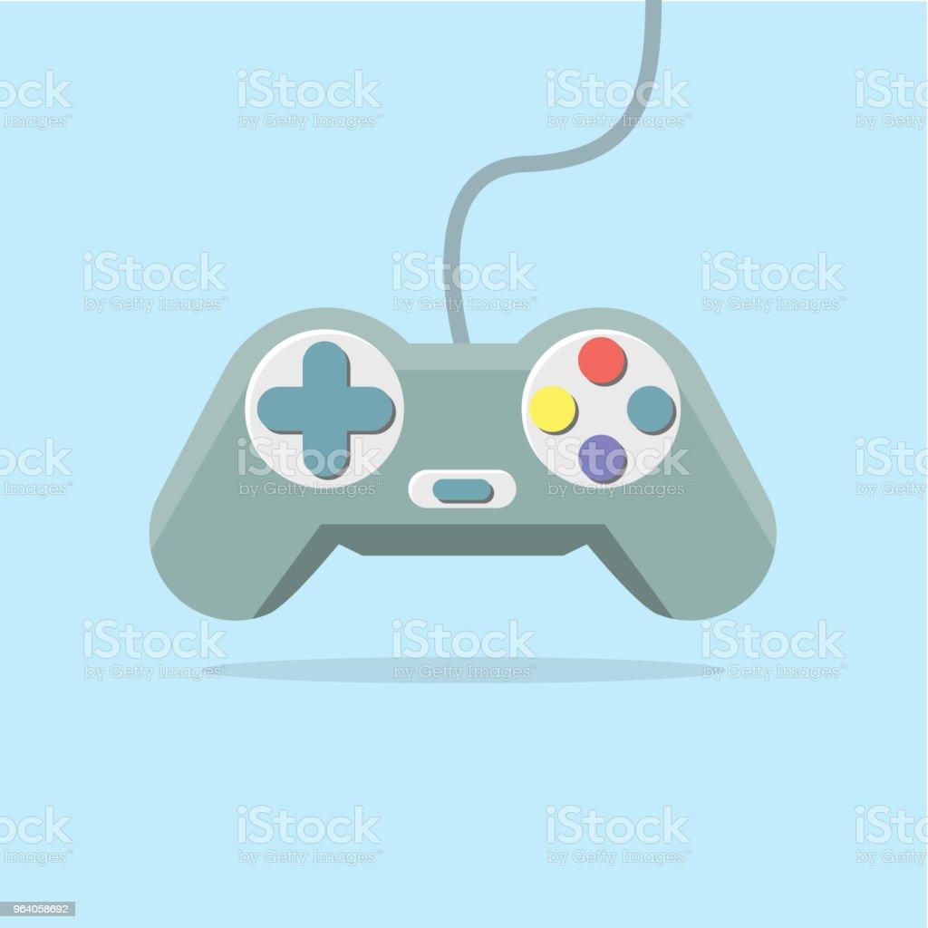 Video Game Joystick - Royalty-free Computer stock vector