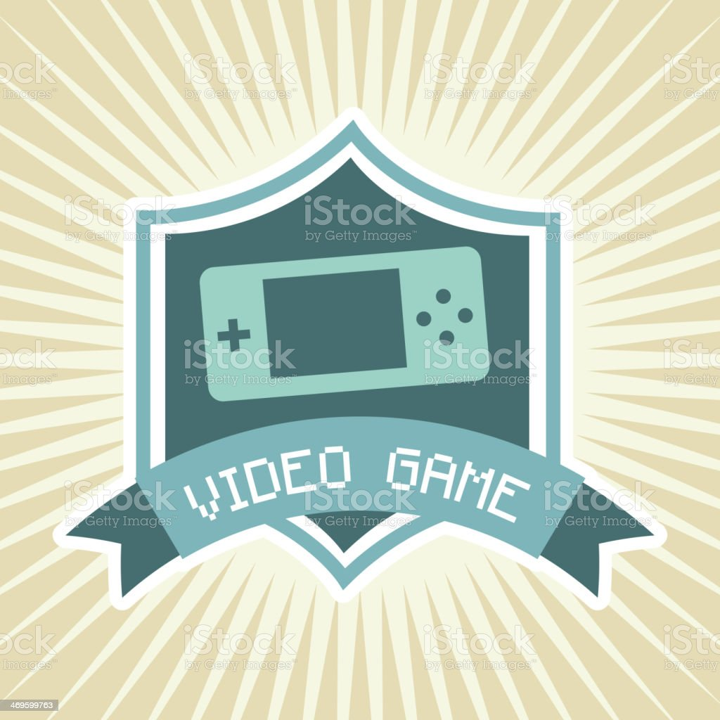 Video Games royalty-free stock vector art