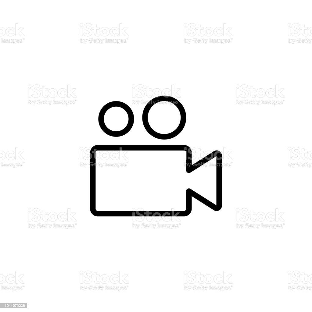 Streamingvideoicon Auf Schwarzweißvektorhintergründe Stock Vektor Art und  mehr Bilder von Begriffssymbol - iStock