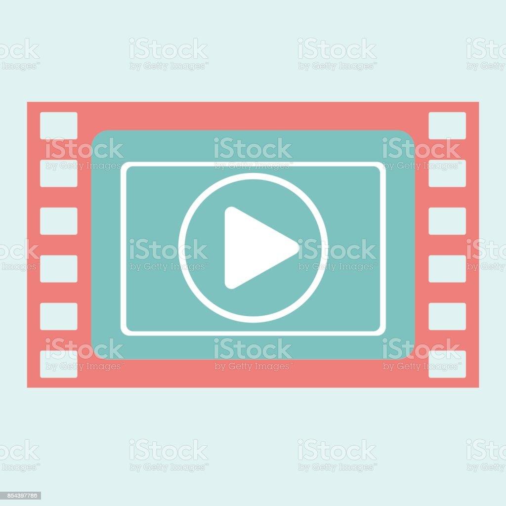Ilustración de Marco De Reproducción De Vídeo y más banco de ...
