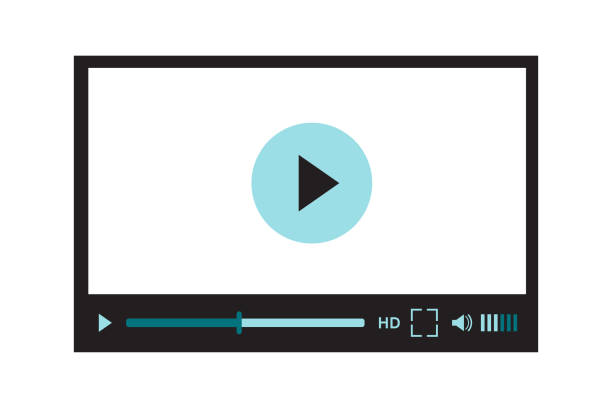 Best Video Player Illustrations, Royalty-Free Vector