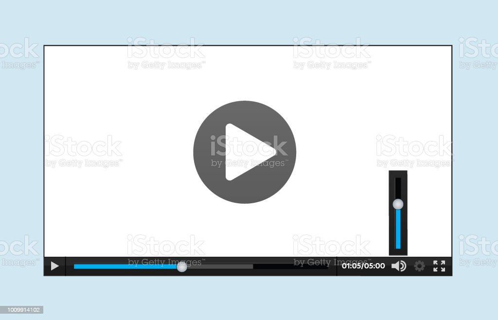 Video Player interface for Web