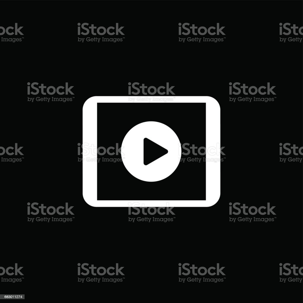 Video Report Icon. Business Concept. Flat Design royalty-free video report icon business concept flat design stock vector art & more images of adult