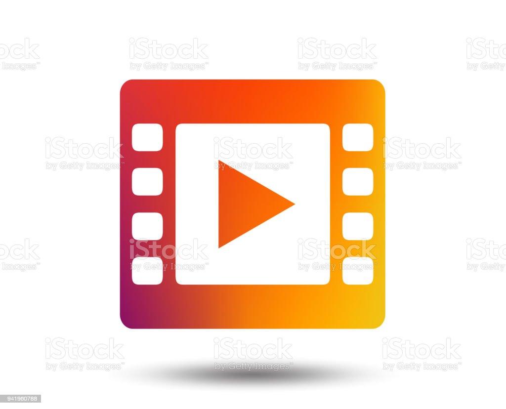 Video Zeichen Symbol Videoframesymbol Stock Vektor Art und mehr ...