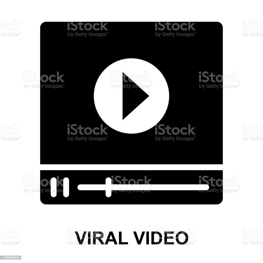 video streaming Glyphs Vector Icons