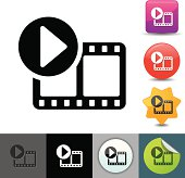 Video streaming icon | solicosi series