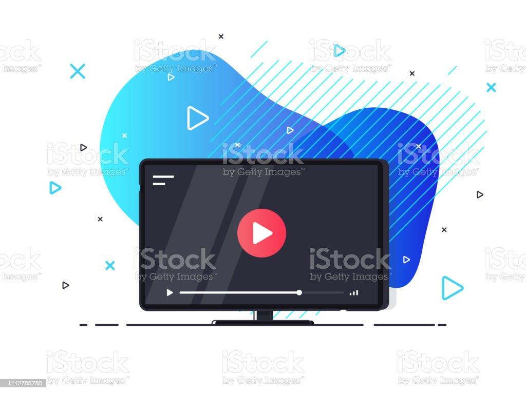 Businessvideokonferenzicon Stock Vektor Art und mehr Bilder von Am Telefon  - iStock