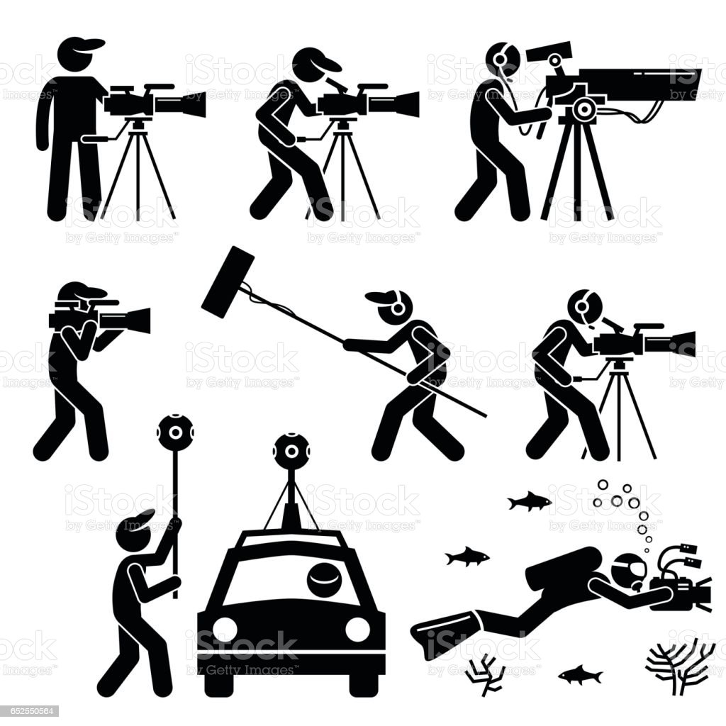 Cinematography clip art